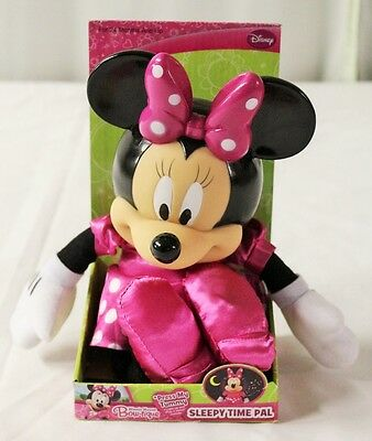 Disney Junior Minnie Mouse Bow-tique Musical Light up Sleepy Time Pal