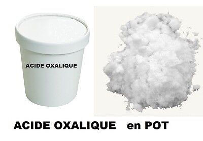 2 KG  pot ACIDE OXALIQUE SEL D' OSEILLE