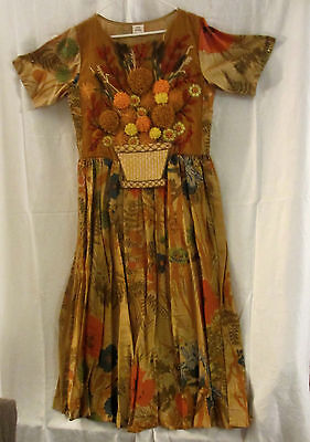 One of a Kind Designer Textile Art  Dress Size Small/Medium