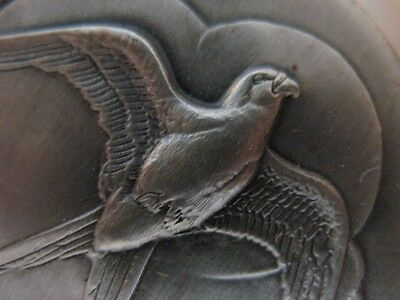 1-Oz Sterling Silver Longines Swallow Tailed Kite Bird 3D Relief  Coin + Gold