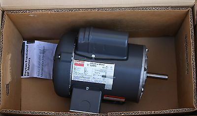 Dayton 3/4hp 1ph 3450rpm 115/230V General Purpose Electric Motor 5UKF5 NEW