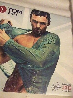 TOM DALEY - Official 2013 Calendar: Gay Interest. NEW / SEALED. FREE UK POSTAGE.