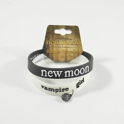 Twilight New Moon Vampire Girl Rubber Wristband Bracelet (2 per pack)