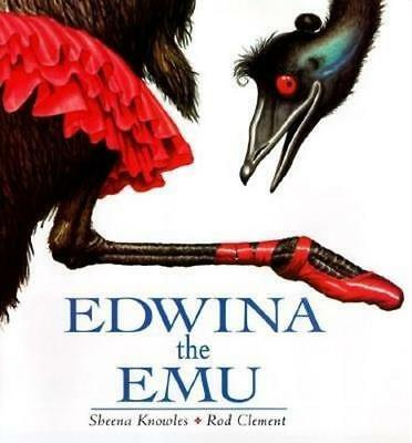 NEW Edwina the Emu By Sheena Knowles Paperback Free Shipping