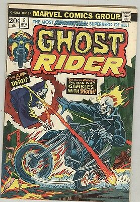 Ghost Rider #5 April 1974 VG+
