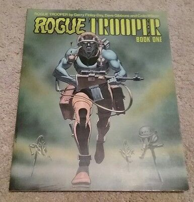 Rogue Trooper: Book One Graphic Novel Titan Books, 1988, Dave Gibbons, Third Edt