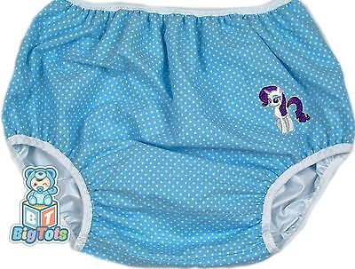 """* BIG TOTS * by MsL   MLP  PUL diaper cover 48"""" hip  adult baby"""