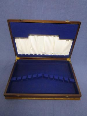 D17036 Vintage Timber Cutlery Canteen Case