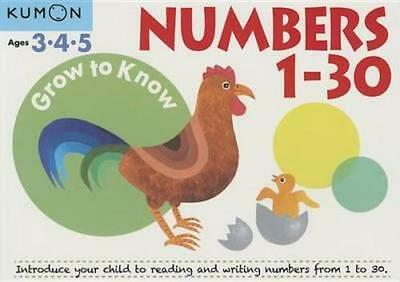 NEW Numbers 1 30 By Kumon Publishing Paperback Free Shipping