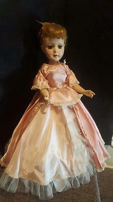 "Vintage American Character Sweet Sue Doll 21"" Tall Hard Plastic Original Clothes"