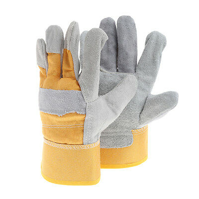 1 Pair Work Protective Gloves Thick Safety Welded Insulated Gloves
