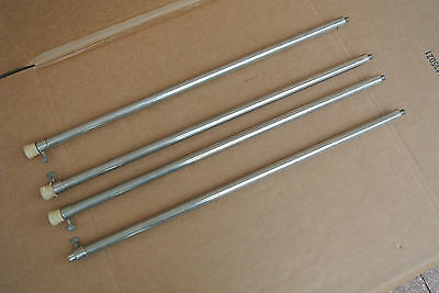 VINTAGE SUPRO TELESCOPING LEGS for YOUR DOUBLE NECK STEEL VALCO NATIONAL #V713