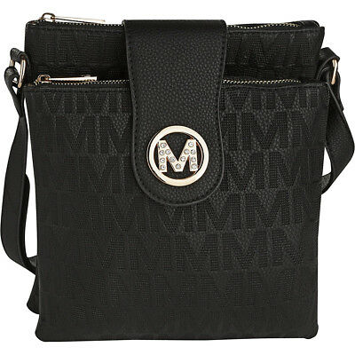 MKF Collection by Mia K. Farrow Marietta M Signature Cross-Body Bag NEW