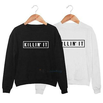 Fashion Women's Long Sleeve Hoodie Sweatshirt Warm Jumper Sweater Pullover Tops