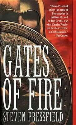 NEW Gates of Fire By Steven Pressfield Paperback Free Shipping