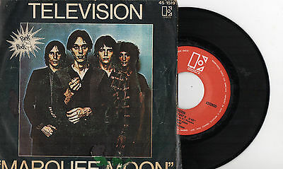 "TELEVISION - Marquee Moon, 7"" PUNK SPAIN 1977"