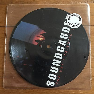 """Soundgarden - The Day I Tried To Live  7"""" Picture Disc"""