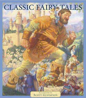 Classic Fairy Tales by Scott Gustafson (English) Hardcover Book Free Shipping!