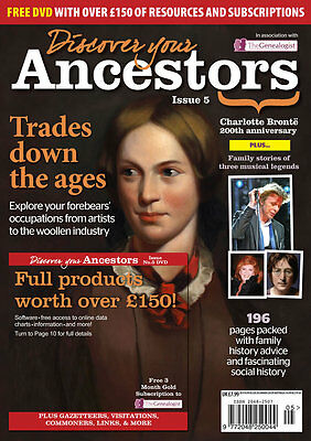Discover Your Ancestors Issue 5 - Family History / Genealogy Magazine