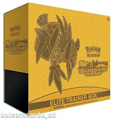 Pokemon TCG: Sun & Moon Guardians Rising Elite Trainer Box ::