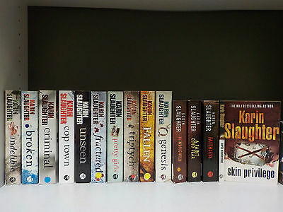 Karin Slaughter - 15 Books Collection! (ID:46507)
