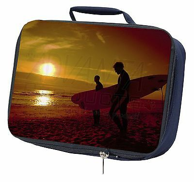 Sunset Surf Navy Insulated Lunch Box, SPO-S1LBN