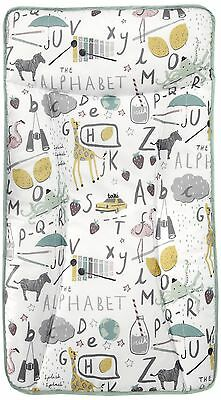 Mamas & And Papas Essentials Baby Nappy Changing Mat Mattress Alphabet New