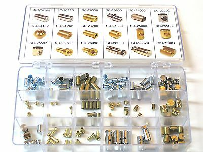 Cable fitting assortment motorcycle clutch throttle brake cables kit set