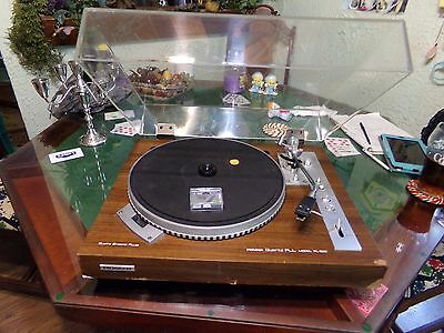 Vintage Pioneer PL-550 Quartz PLL Direct Drive Turntable With New Needle