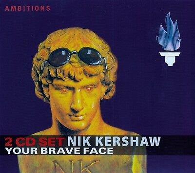 Nik Kershaw : Your Brave Face (15 Minutes + To Be Frank) / 2 Cd-Set