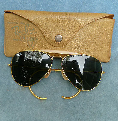 Bausch Lomb Ray Ban Sunglasses Aviator Sportsman Cable USA B&L