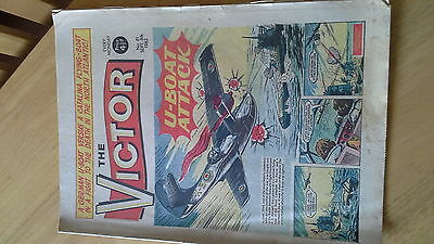 THE VICTOR  No.166 April 25th 1964 well worn