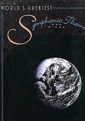THE WORLD'S GREATEST SYMPHONIC THEMES FOR PIANO Warner Bros