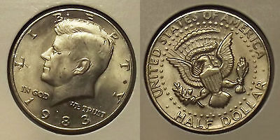 1983-P KENNEDY HALF DOLLAR 50c COIN