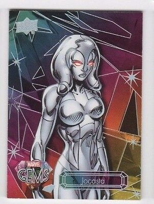 2016 Upper Deck Marvel Gems base card 36 Jocasta 062/225