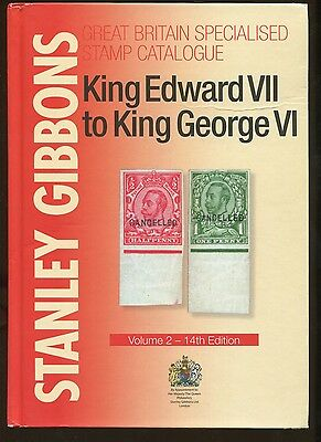 Stanley Gibbons King Edward VII to George VI Stamp Catalogue Vol 2 14th Edition