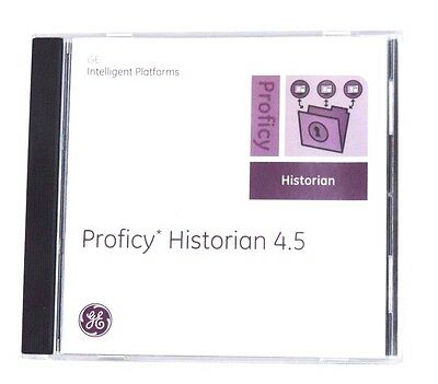 New Ge Proficy Historian 4.5 Software