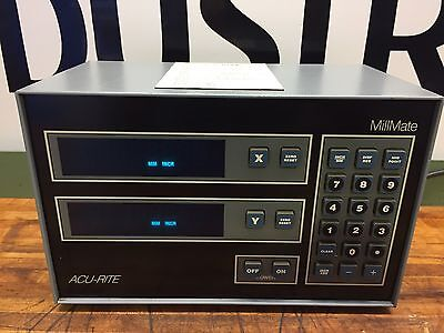 Acu-Rite Millmate Mill Mate 2Axis Digital Readout DRO  9 Pin Acurite Bridgeport