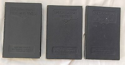 Lot of 3 Vintage 1930's Writing Books International Textbook Company