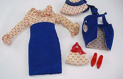 Vintage Barbie Complete Francie 1966 Concert In The Park #1256 Doll Outfit