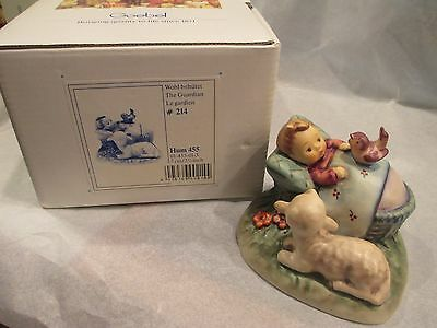 Hummel Figurine 455~The Guardian~Original Box First Issue Goebel Germany (Baby)