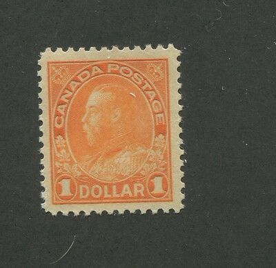 Canada 1925 King George V Admiral Issue Very Fine $1 Stamp #122 CV $300