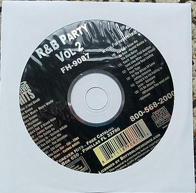 R&b Party Karaoke Cdg Fh9087 Cd+G James Brown,shirelles,chi Lites,spinners Cd