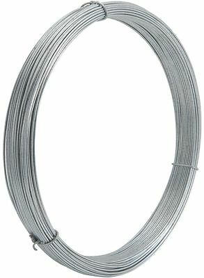 GALVANISED COIL SUSPENDED CEILING WIRE 150 Meter LONG HANGING FENCING WIRE 2MM