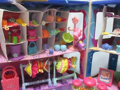 Littlest Pet Shop Lot Shopping Mall Food Accessories 10 Random Authentic Lps