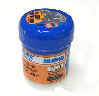 Mechanic Soldering Solder Welding Paste Flux XG-50 SMD SMT Sn63/Pb37 Tools BD