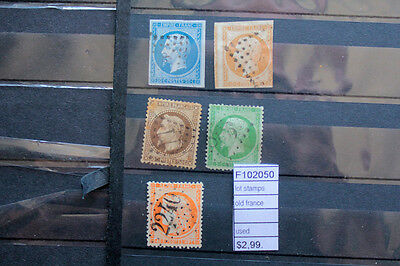 Lot Stamps Old France Used (F102050)