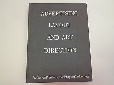 Advertising Layout and Art Direction 1959 Stephen Baker Typography Graphic Arts