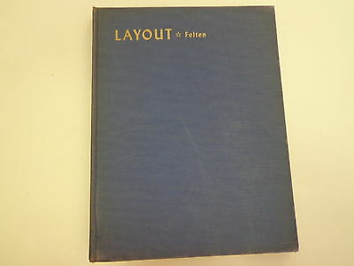 Layout by Charles J Felten 1949 Advertising Typography Graphic Arts