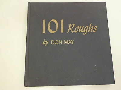 101 Roughs by Don May – A Handbook of Advertising Layout 1951 Graphic Arts